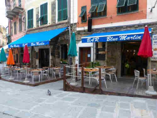 Bagni Blue Marlin Nervi : Blue marlin cafe vernazza