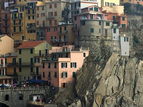 The bastion of Manarola